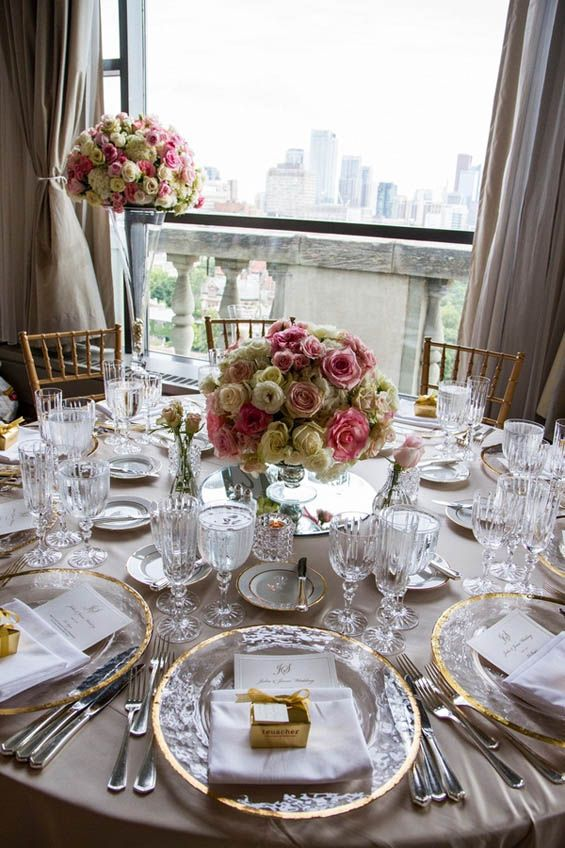 Ivory And Blush Pinks With A Hint Of Gold At Park Hyatt Toronto Canada