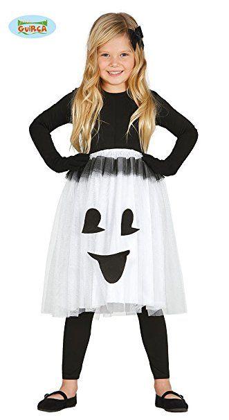 Geister Halloween Kostüm für Kinder kleines Gespenst Halloweenkostüm ...