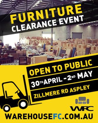 Warehouse Furniture Clearance Open To The Public In