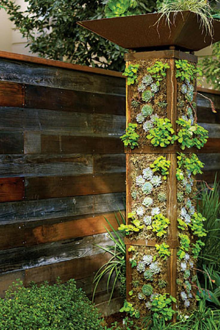 GO GREEN TIP #99: How To Make A Do It Yourself Vertical Garden   eco ...