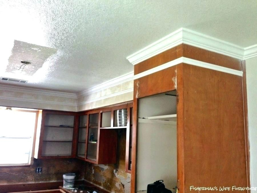 putting crown molding on kitchen cabinets how to install ...