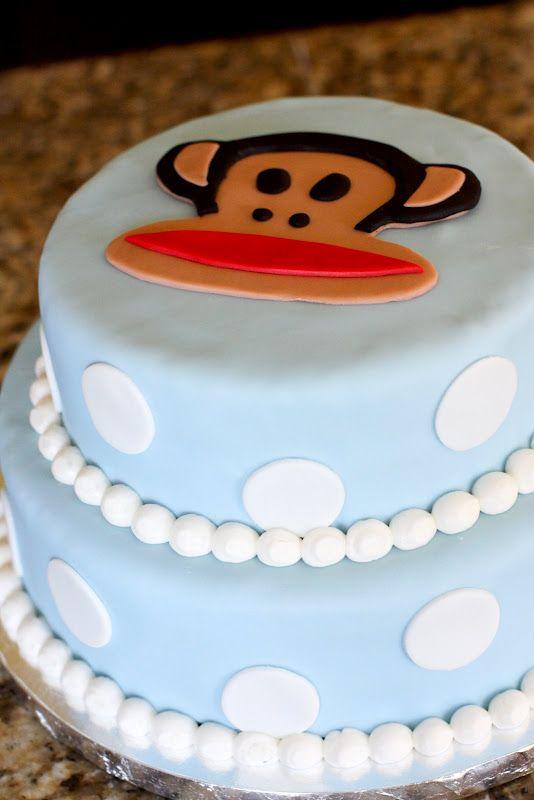 Paul Frank Cake Jenny Cookies Birthday Cakes 1st Birthdays Monkey