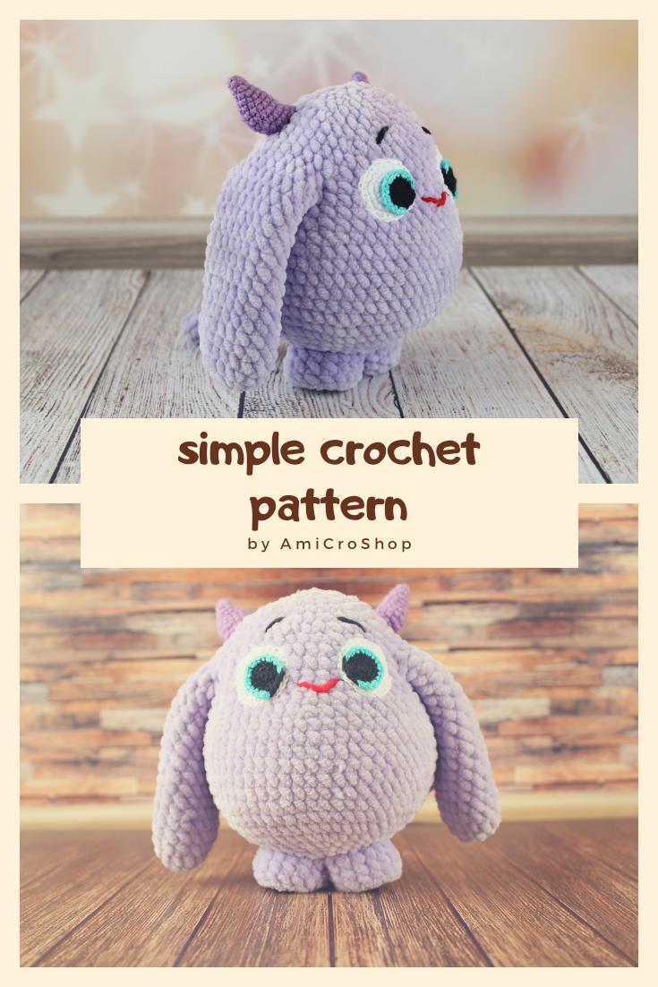 Amigurumi Bumblebee | How to crochet tutorial | Easy beginners video |  Crochet Bee - YouTube | 1102x735