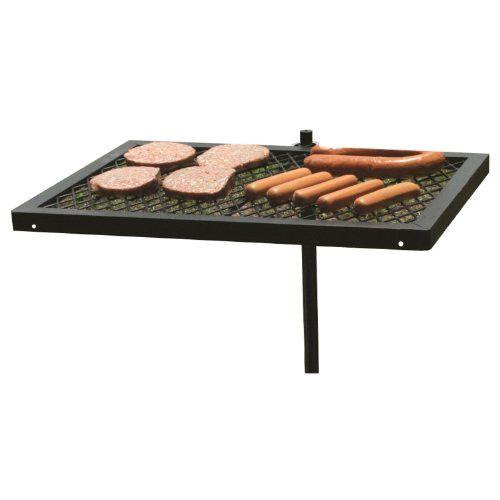 Sunnydaze Portable Heavy Duty Adjustable Campfire Cooking Swivel Grill U2013  Cheapbuynsave.com