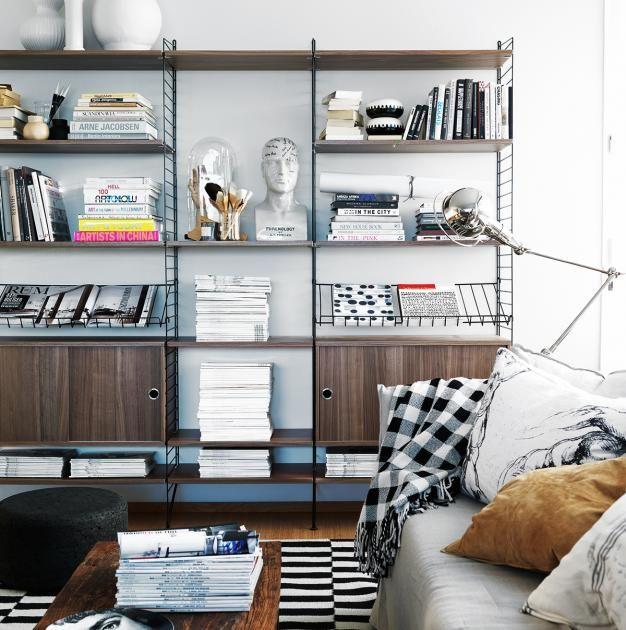 Die 15 häufigsten Fehler beim Einrichten 3 Zu viele Bücher - großes bild wohnzimmer