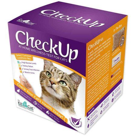 Coastline Global Checkup At Home Wellness Test For Cats Silver