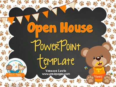 Parent Open House Open house, Parent open house and Kindergarten - open house templates