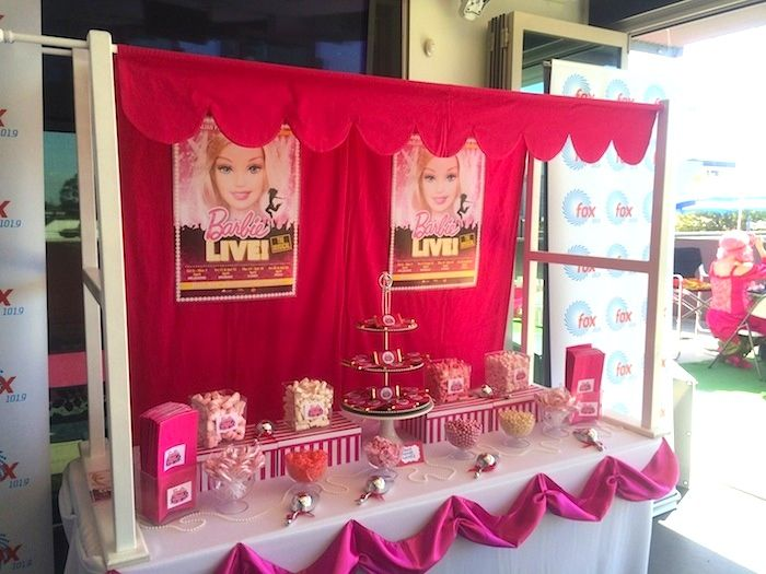 Mattel Barbie Pearl themed birthday party with Lots of Super Cute