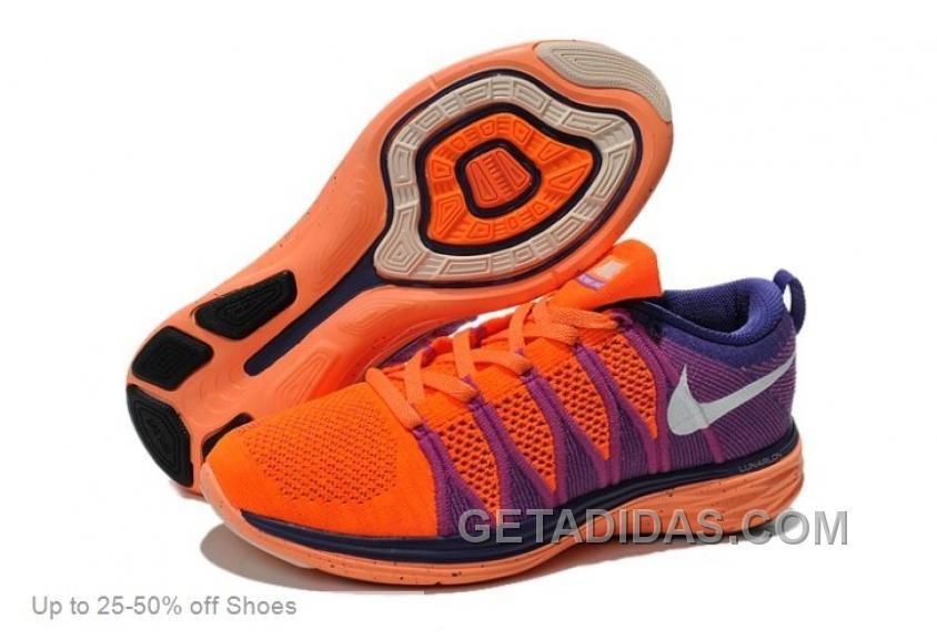 promo code b02f0 e6e62 Nike Running Shoes Women Flyknit Lunar2 Atomic Orange White Court Purple  Discount, Price   69.00 - Adidas Shoes,Adidas Nmd,Superstar,Originals