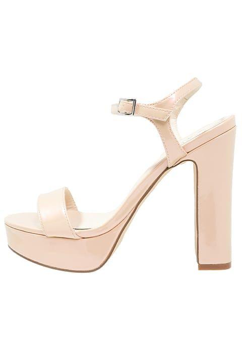 Even&Odd Platform sandals - gold CZwXK