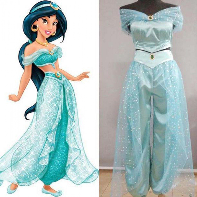 Shoes Anime Aladdin And The Magic Lamp Jasmine Princess Shoes Custom-made Novelty & Special Use