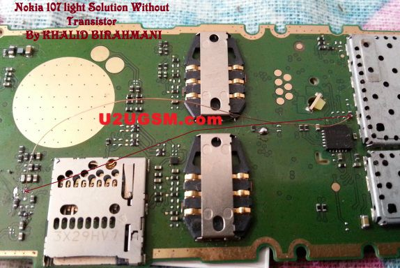 Nokia 107 Light Solution Lcd Display Light Problem Jumper Ways