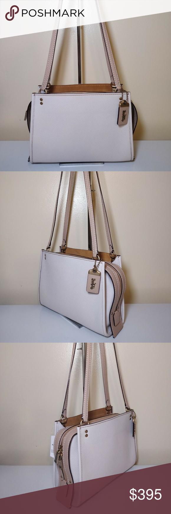 ee54149f1c Coach 1941 Rogue Shoulder Bag Chalk White 28484 New With Tags Coach 1941 Rogue  Shoulder Bag