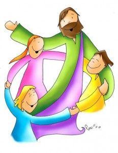 Resultat d'imatges de jesus con niños fano