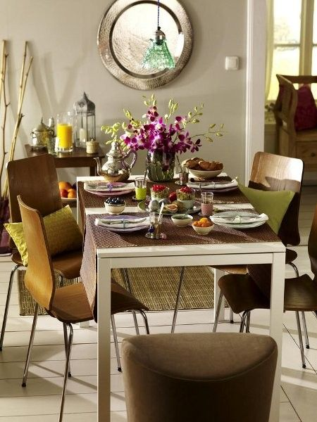 Exotische Tischdeko zum Nachmachen   Fernweh, Brunch und Tischdeko