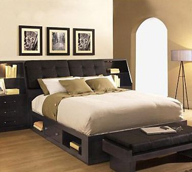 Leather Headboard Bed Set With Storage Great Idea Headboard Storage Bed Designs With Storage Bed Design