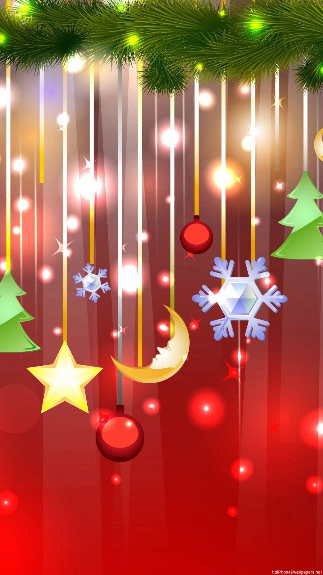 Christmas IPhone 6 Wallpapers HD And Plus 1080P