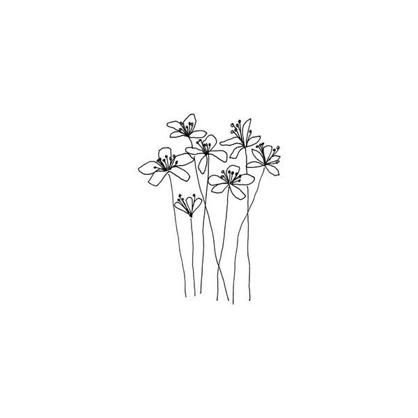 Wind Caressed From Penny Black Buy Online 310 Uah Liked On Polyvore Featuring Fillers Flowers Doodles Drawings Drawings Flower Doodles Doodle Drawings