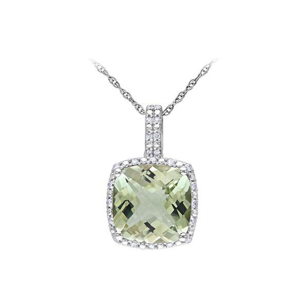 Green amethyst and diamond pendant 340 liked on polyvore green amethyst and diamond pendant 340 liked on polyvore featuring jewelry pendants aloadofball Image collections