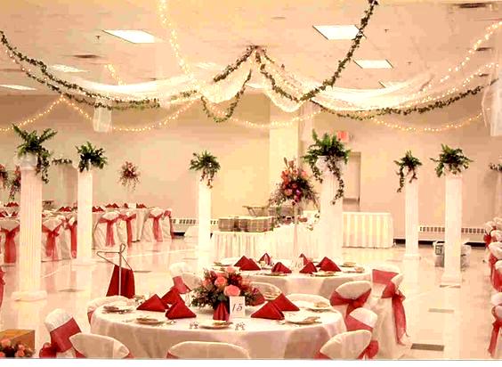 2017 Wedding Trends Top 12 Greenery Wedding Decoration Idea In 2020 Wedding Hall Decorations Simple Wedding Decorations Cheap Wedding Decorations