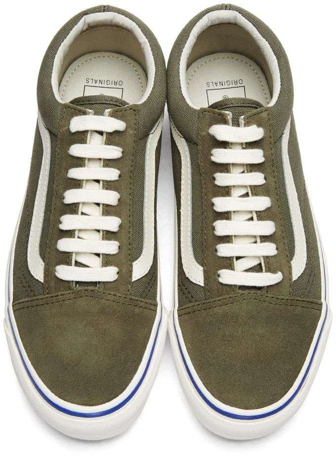 2ecaefad716 Vans - Green Suede OG Old Skool LX Sneakers