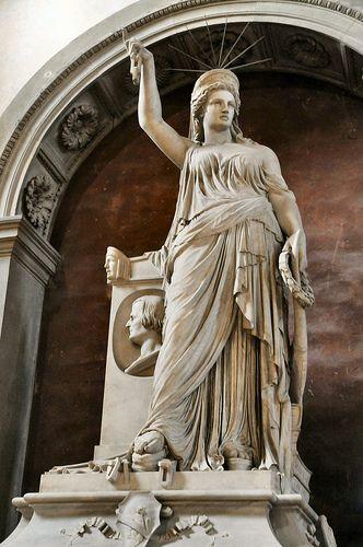 Pio Fedi - Monument a Giovanni Battista Niccolini - Statua della Libertà della poesia - Firenze Basilica di Santa Croce