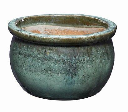 keramik blumentopf bavaria antik jade gr n glasiert rund pflanzgef e in 2019 keramik. Black Bedroom Furniture Sets. Home Design Ideas
