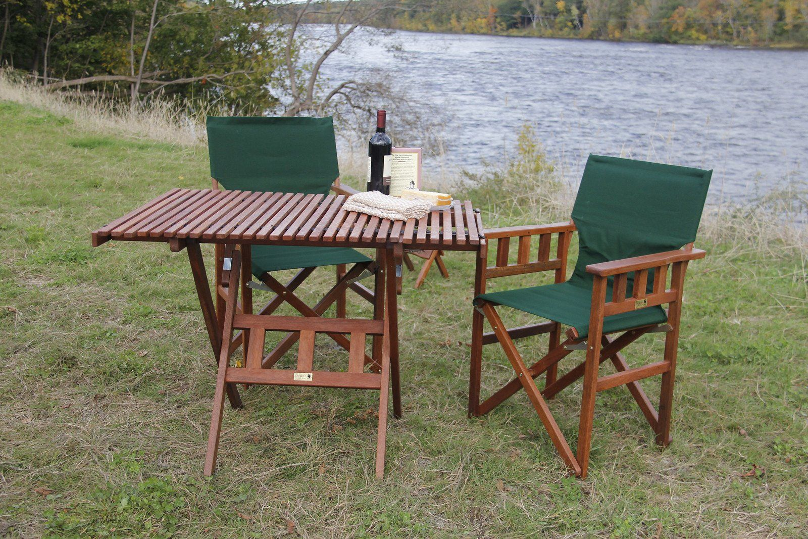 Amazon.com: Byer Of Maine Pangean Roll Top Folding Table: Patio,