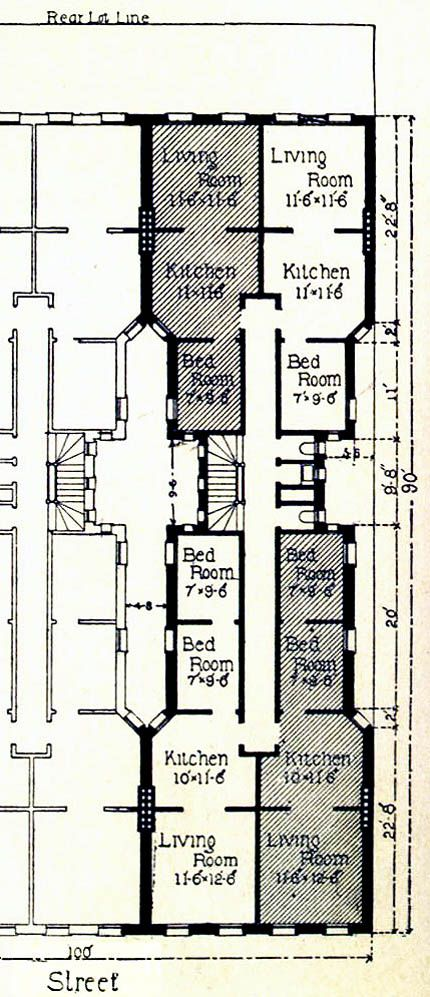 Tenement Floor Plan Interestingly We Are Coming Back
