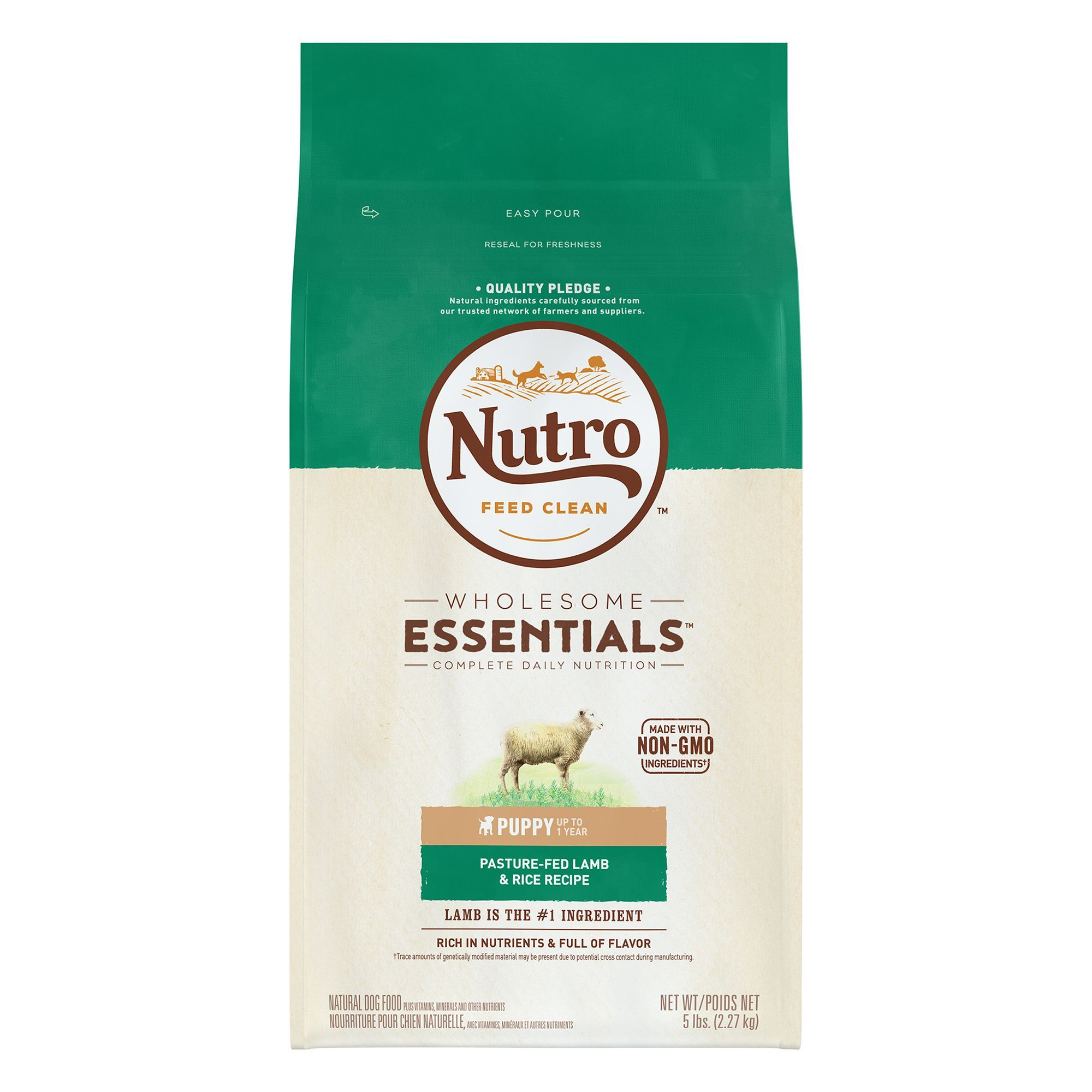Nutro Wholesome Essentials Puppy Food Natural Lamb And Rice