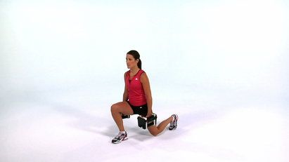 Exercise of the Day! This classic lunge move is still an excellent way to build lower body strength and stability.