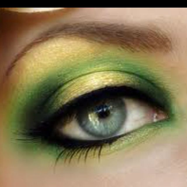 My favorite one.  St. Patrick's day eye 6