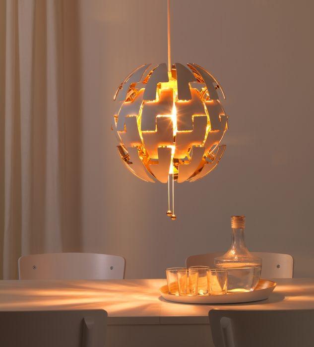 IKEA PS 2014 Hanglamp, wit, oranje   Ikea ps 2014, Ikea ps and ...