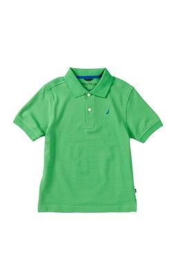 Short Sleeve Polo (Little Boys)