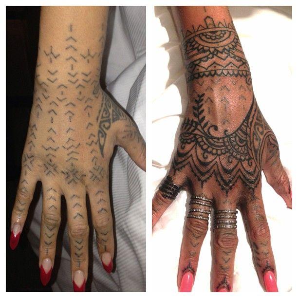 Regret Maori Tattoo Coverup Rihanna Hand Tattoos Rihanna Hand Tattoo Tribal Hand Tattoos