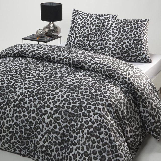 Housse De Couette Imprime Leopard La Redoute Interieurs Housse De Couette Decoration Appartement Mobilier De Salon