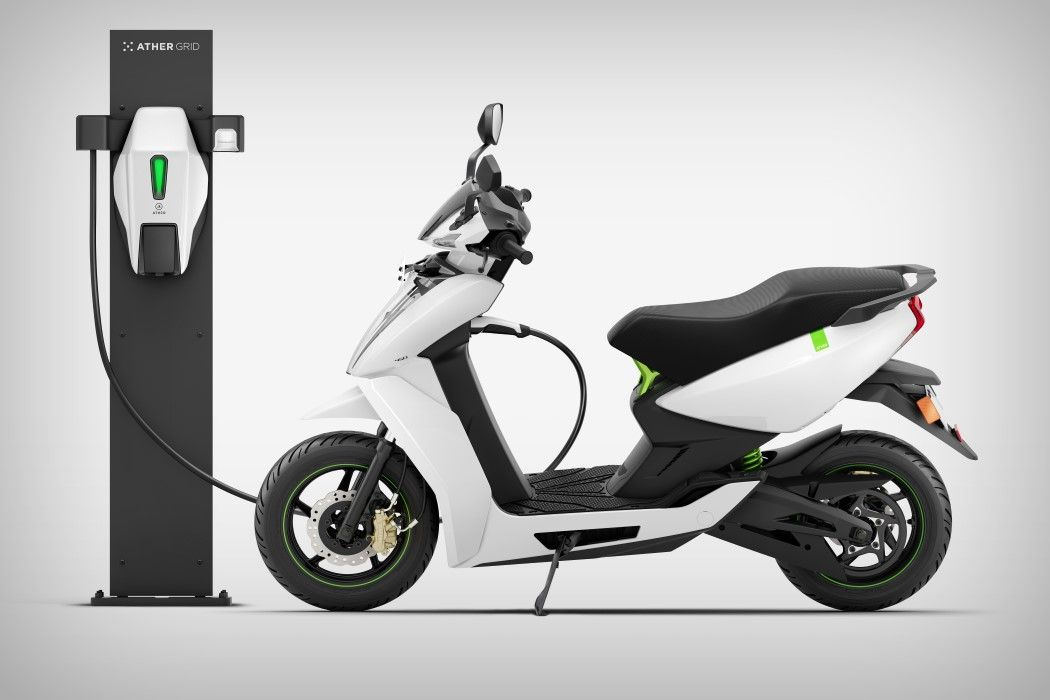 The Ather E Scooter Is India S Tesla On Two Wheels Yanko Design