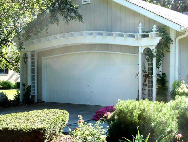 Arched Top Pergola Pergola Pergola Shade Cover Garage Door Styles