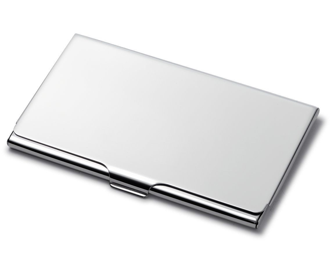 business card case in sterling silver bluenile - Silver Business Card Holder