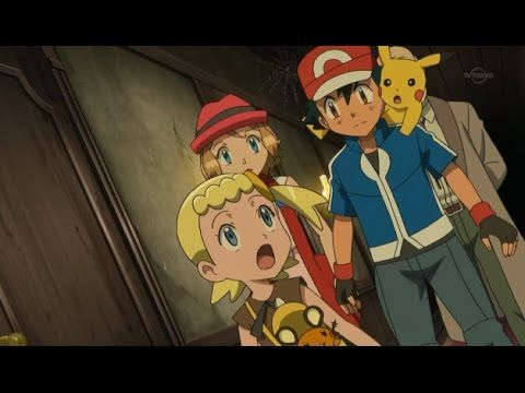Full Pokemon Series Xy Episode 72 The Scary House S Welcoming