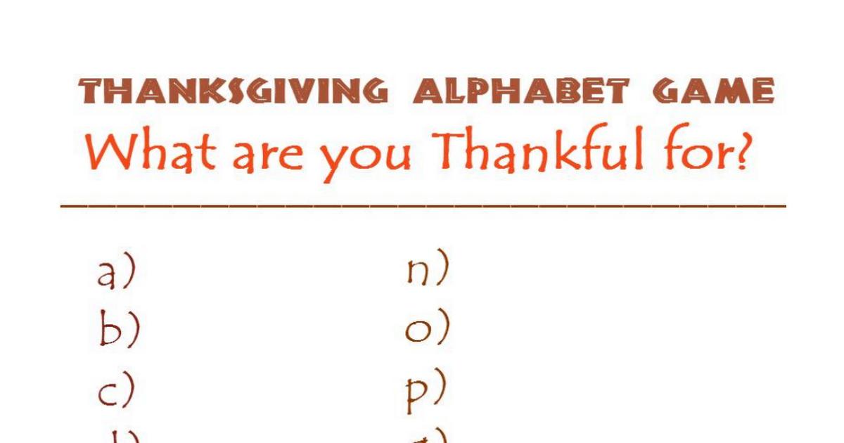 Thanksgiving Alphabet PDF.pdf Thanksgiving alphabet