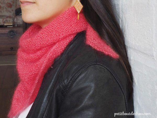 The perfect mini trendy shawl
