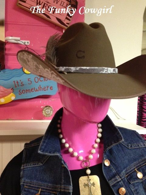 Charlie 1 Horse Lace Hat Amazing Country Girls Western Wear Funky