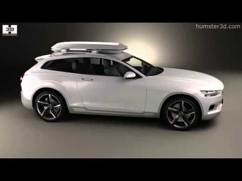Volvo XC Coupe 2013 3D model - Humster3D