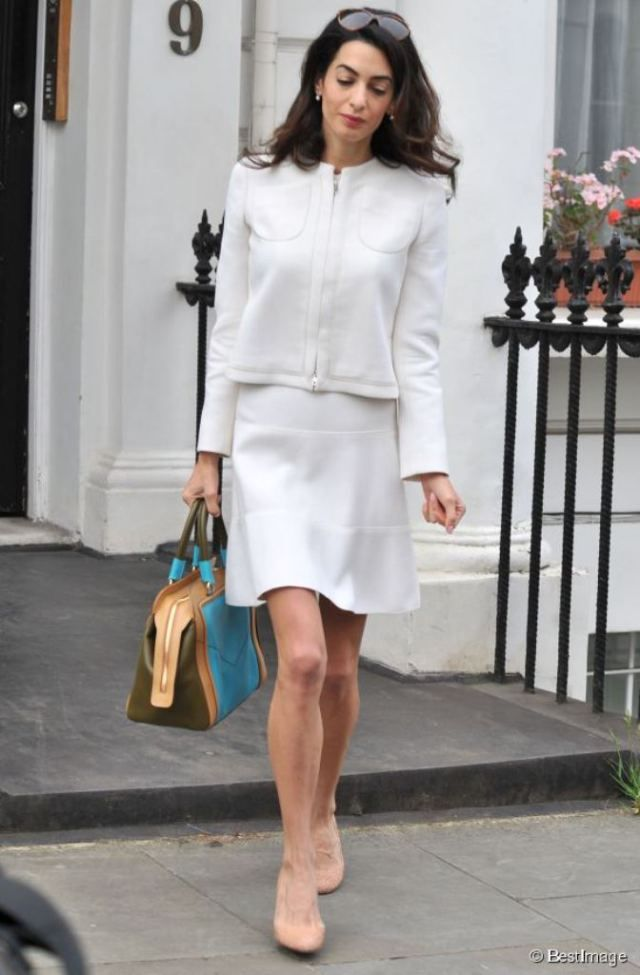 edd1aee8f1d Amal Clooney in Giambattista Valli at the House Of Commons meeting with David  Cameron 24.06.