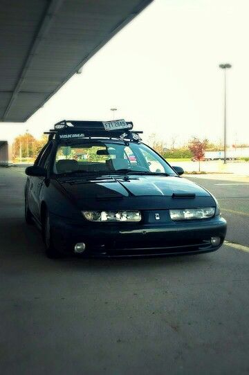 Slammed Saturn Sl2 Static Camber Rack Clean Sick Rides