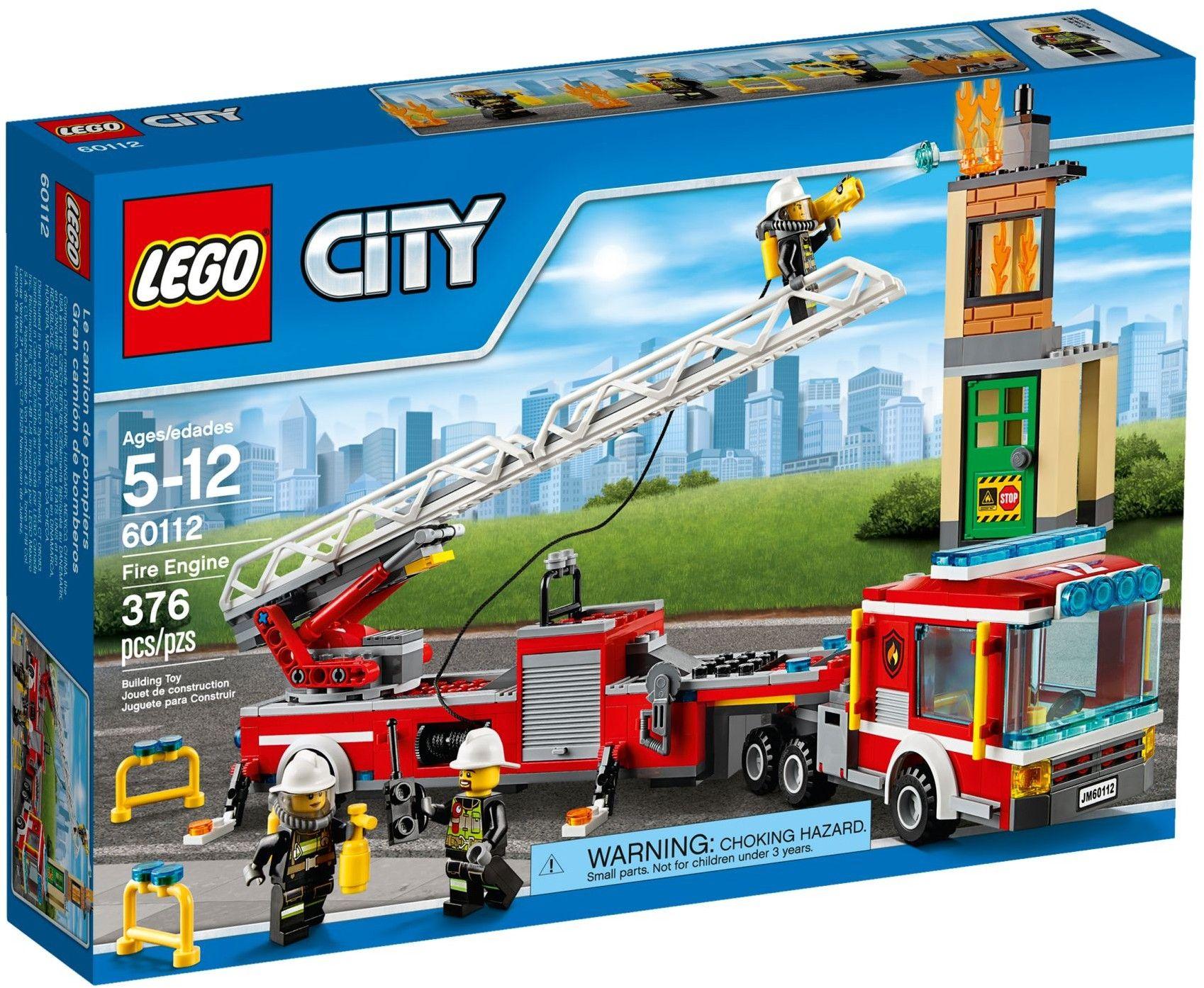 comparez les prix du lego city 60112 le grand camion de pompiers avant de l - Lego City Pompier