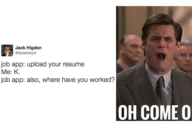 Everyone Agrees That This Is The Worst Part Of Job Applications - job applications