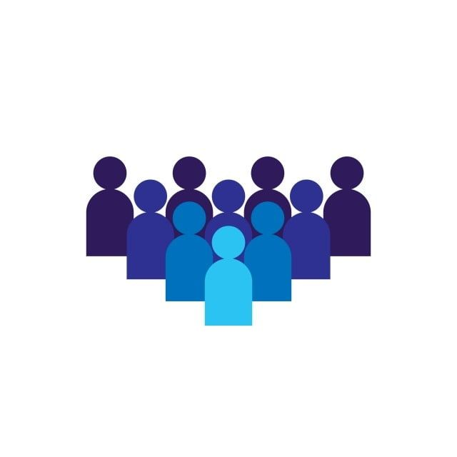 People Icon Business Corporate Team Working Together Social Network Group Logo Symbol Crowd Sign Leadership Or Community Concept Vector Illustration In Fla People Icon Logo Background Community Logo