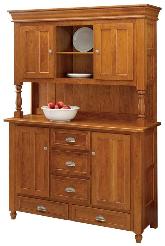 Our American Handcrafted Bedford Hutch Will Be A Grand Additional To Your Dining Room Or Kitchen The Overall Feel Of Is Lighter